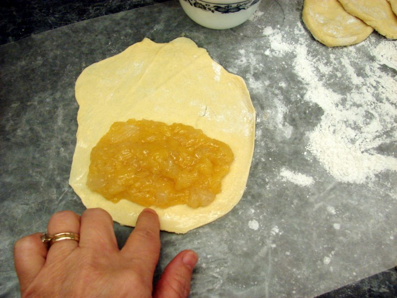 These Apple Hand Pies are portable and delicious, and bring back memories of those little pies in the grocery store checkout line. You could use this base pastry recipe and mix and match all sorts of pie fillings to suit your tastes and use up seasonal fruit.
